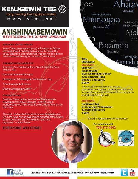 Anishinaabemowin: Revitalizing the Ojibwe Language with Anton Treuer