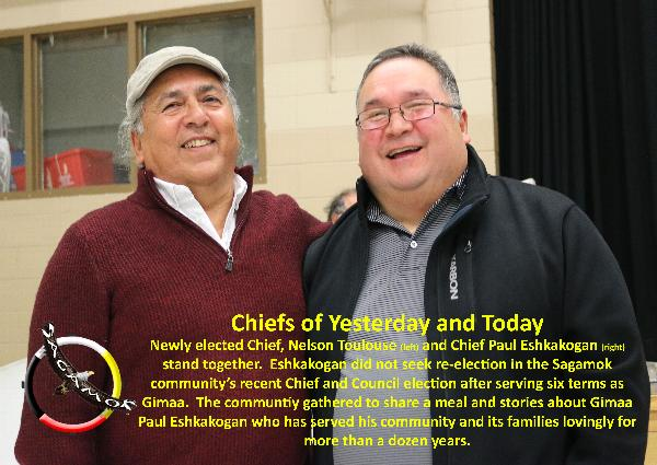 Chief Paul Eshkakogan honoured with Appreciation Dinner concluding annual Fall Fun Days